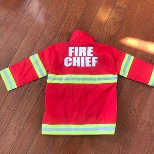 Melissa and Doug Fire Chief costume jacket